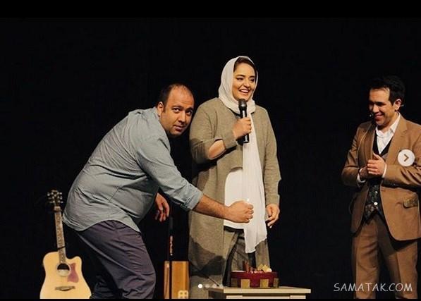 حاملگی نرگس محمدی