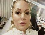 عکس لورفته از مهناز افشار در لباس عروس پس از مهاجرت + تصاویر دیده نشده