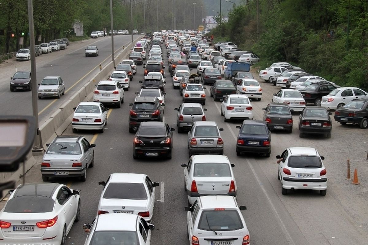 آخرین وضعیت ترافیکی جاده های کشور چهارشنبه 9 بهمن
