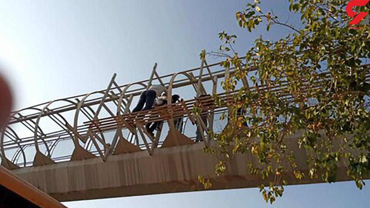 خودکشی دختر 18 ساله در اصفهان + عکس
