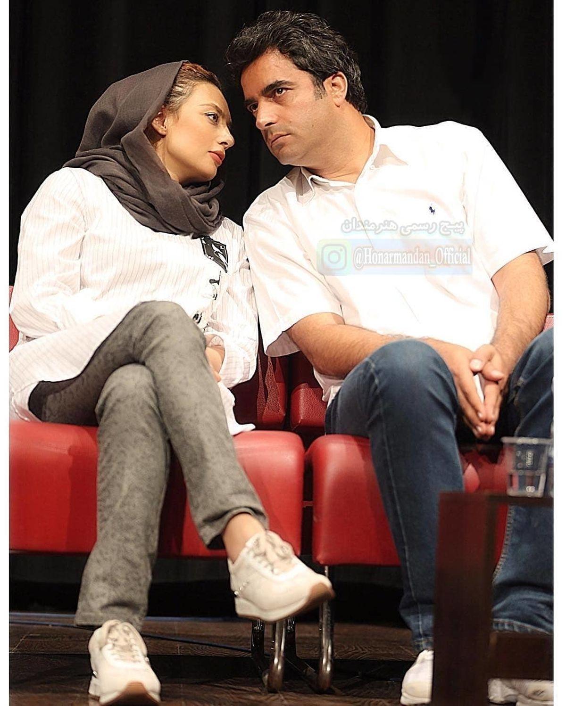 عاشقانه منشوری یکتا ناصر و همسرش + عکس خصوصی