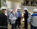 حضورسرزده وغیرمترقبه مدیرعامل شرکت ملی فولادایران درمجتمع فولادقائنات