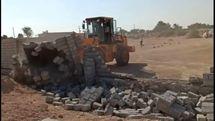 52.8 هزار مترمربع از اراضی ملی به ارزش 79.2 میلیارد ریال در روستاهای رمکان و توریان قشم رفع تصرف شد