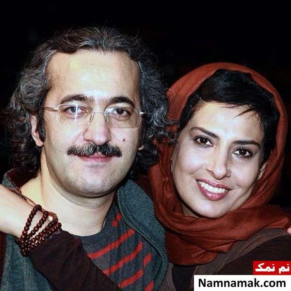 آیدا کیخایی در آغوش همسرش محمد یعقوبی