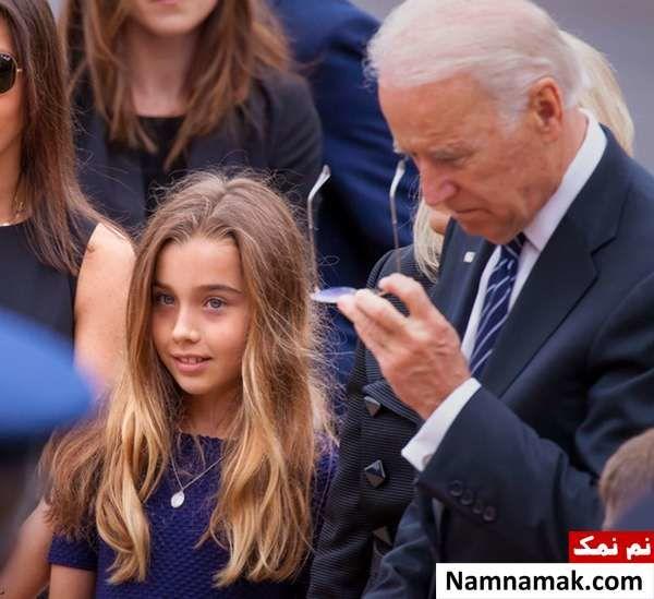 جو بایدن و نوه اش ناتالی بایدن