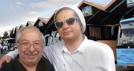 پدر علی صادقی,علی صادقی و پدرش,بابای علی صادقی