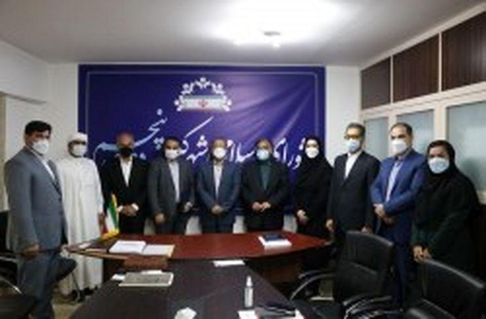 """تقدیر از زحمات شورای شهرکیش به مناسبت گرامیداشت """" روز شوراها"""""""
