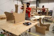 نخستین کارخانه مبلمان سازی کیش به بهره برداری می رسد