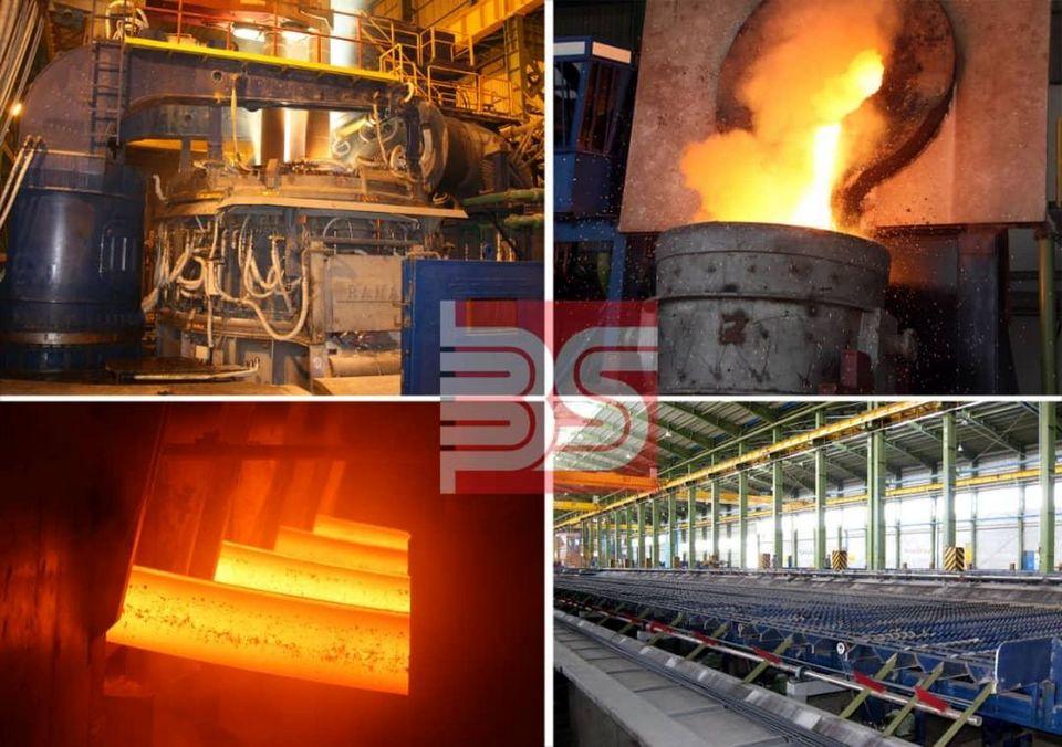 رکورد تولید ماهانه خطوط ذوب و نورد در مجتمع فولاد صنعت بناب شکسته شد