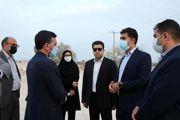 بازدید از دو پروژه راهسازی و دو شهرک مسکونی توسط مدیرعامل منطقه آزاد قشم