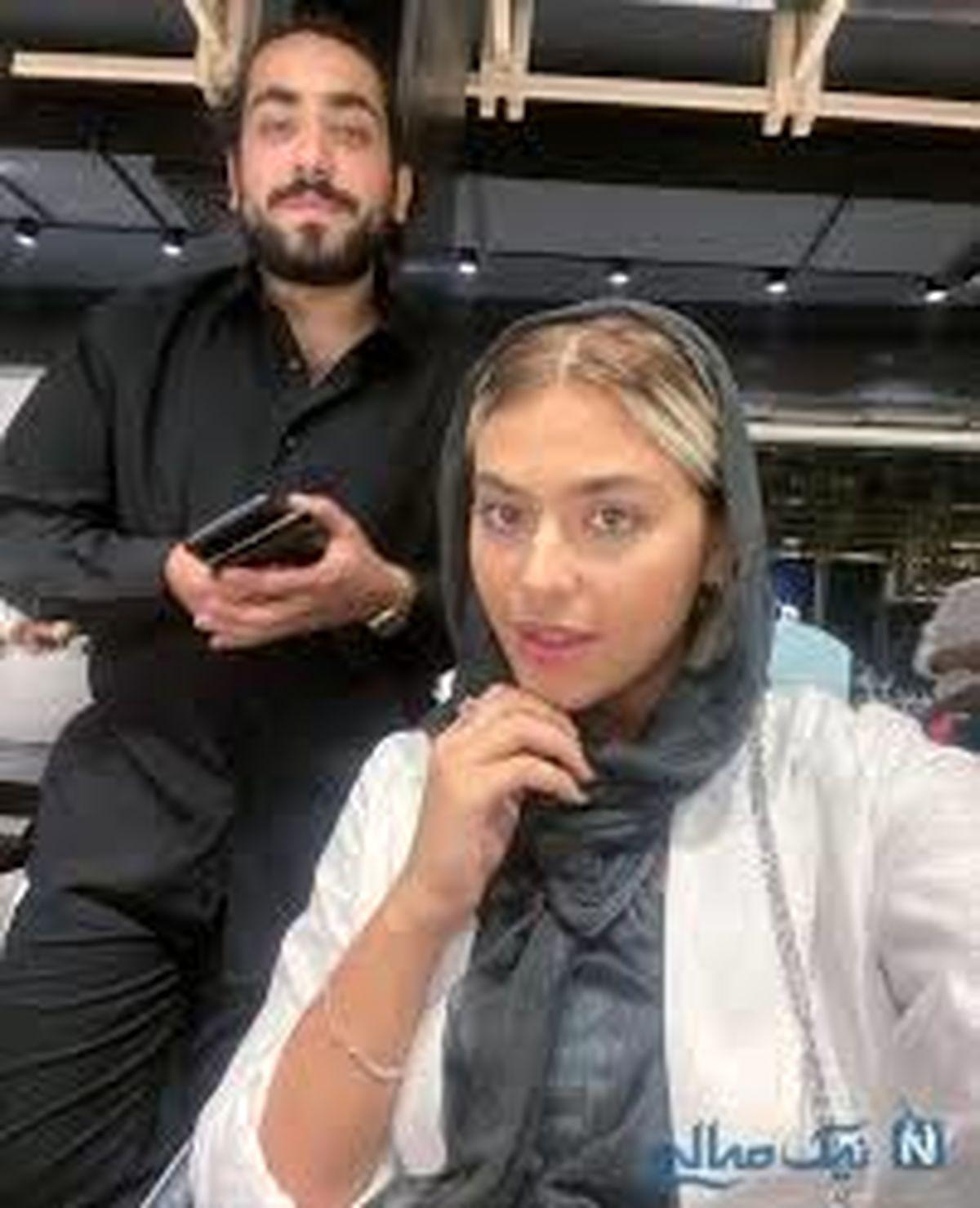 فیلم لورفته از ریحانه پارسا با روزبه بمانی در ماشین بعد از طلاق + فیلم
