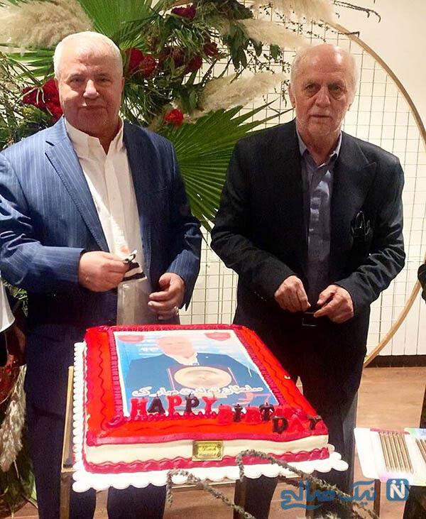 جشن تولد علی پروین