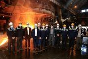 ذوب آهن اصفهان در شرایط تحریم ، الگوی خودباوری در صنعت کشور شد