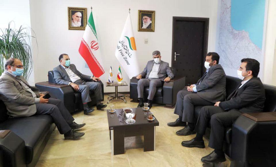 دیدار مدیرکل  استاندارد استان گیلان با سرپرست سازمان منطقه آزاد انزلی