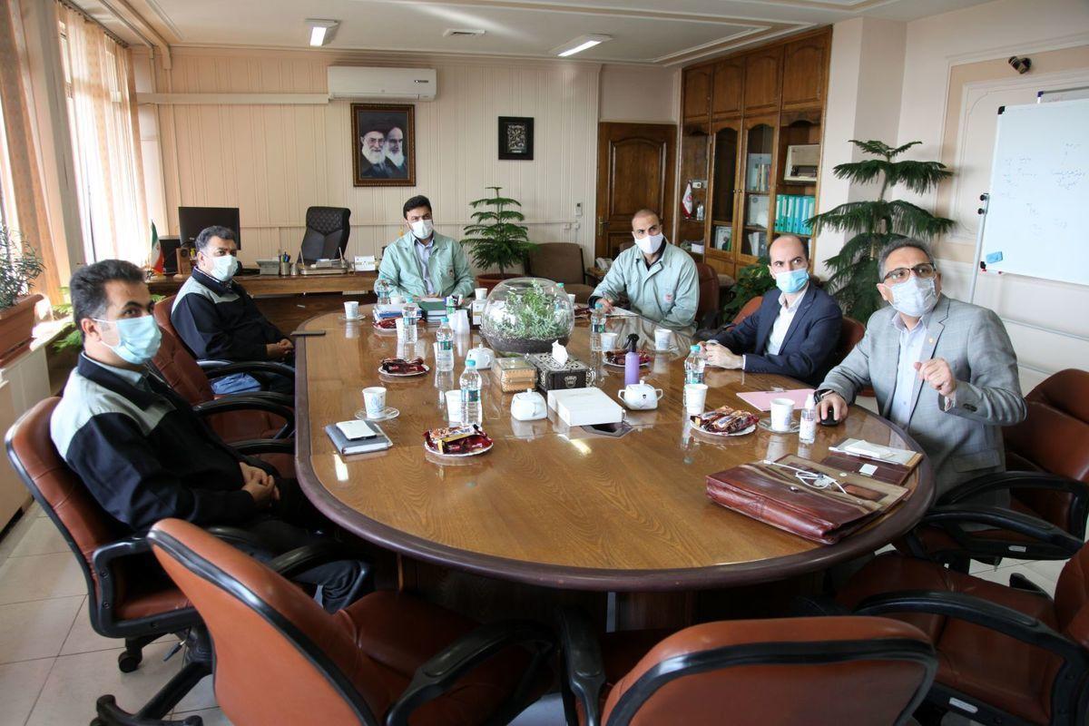 جلسه ارزیابی پروژه سبز توسط ارزیابان انجمن مدیریت سبز ایران در ذوب آهن برگزار شد