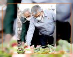 آیین تشییع و تدفین پیکر شهید گمنام در شرکت سایپا/ تقدیر دفتر رهبر معظم انقلاب از ترویج فرهنگ ایثار و شهادت در صنعت کشور