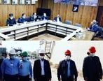 بازدید مدیرکل حفاظت محیط زیست استان خوزستان از مجتمع پتروشیمی بندرامام
