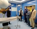 بازدید مدیر سلامت و ورزش دبیرخانه شورای عالی مناطق آزاد از ظرفیت های درمانی منطقه