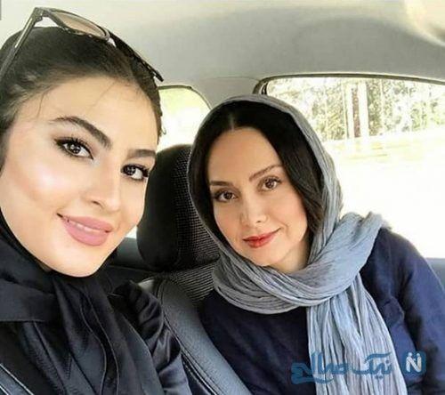 عکس بد حجاب و مدل موی جدید مریم مومن جنجالی شد + عکس نامتعارف