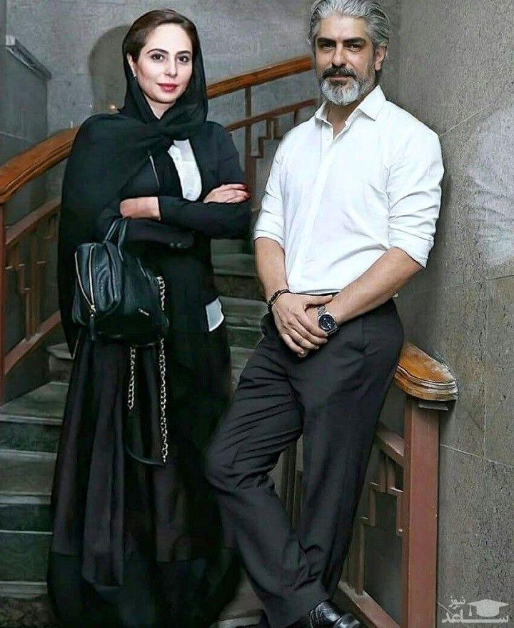 گردش مهدی پاکدل با همسر دوم و دوستانش