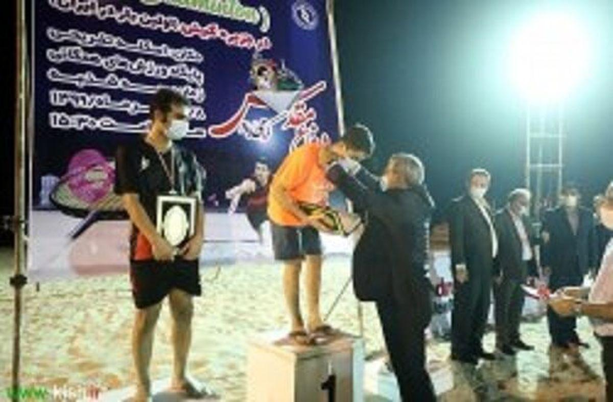اولین دوره مسابقات ایر بدمینتون کشور در کیش برگزار شد