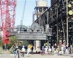 انجام موفقیتآمیز تعویض ترولی جرثقیل 310 تنی مجتمع فولاد سبا