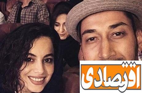 بهرام افشاری ازدواج کرد + عکس همسرش