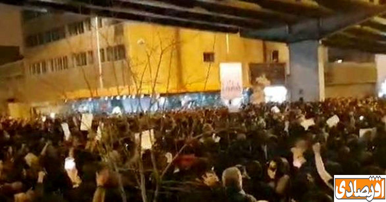 اخرین اخبار از تجمعات دانشجویان و پاره کردن عکس سردار سلیمانی + عکس