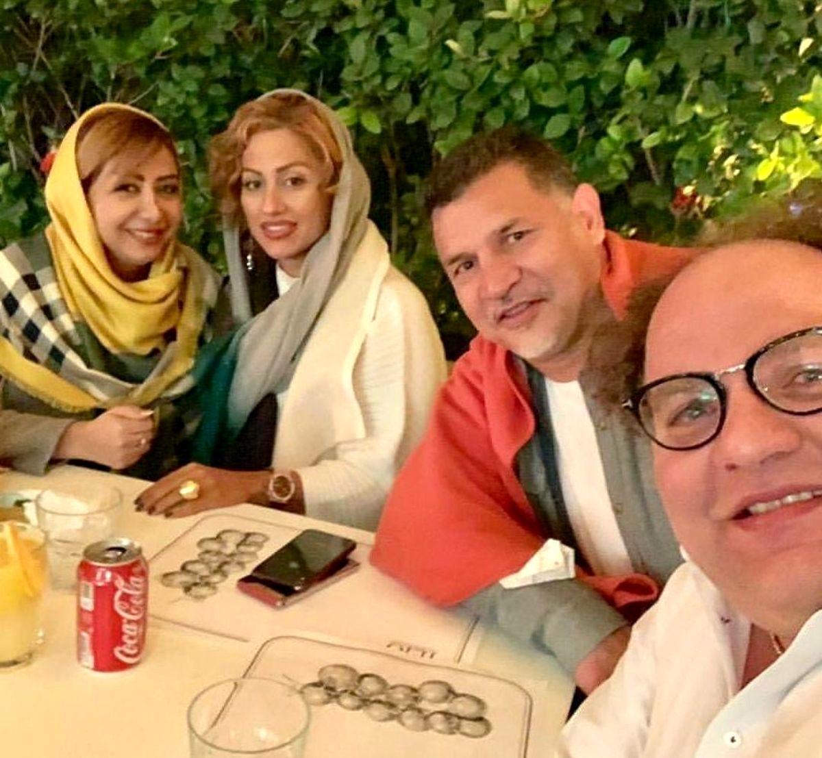 علی دایی از همسر جوانش رونمایی کرد + عکس لورفته