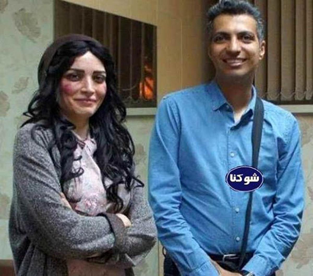 عکس لورفته از زن سابق اقای بازیگر در بغل عادل فردوسی پور + بیوگرافی
