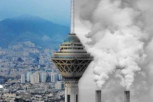 آخرین وضعیت آلودگی  هوای تهران دوشنبه 21 بهمن