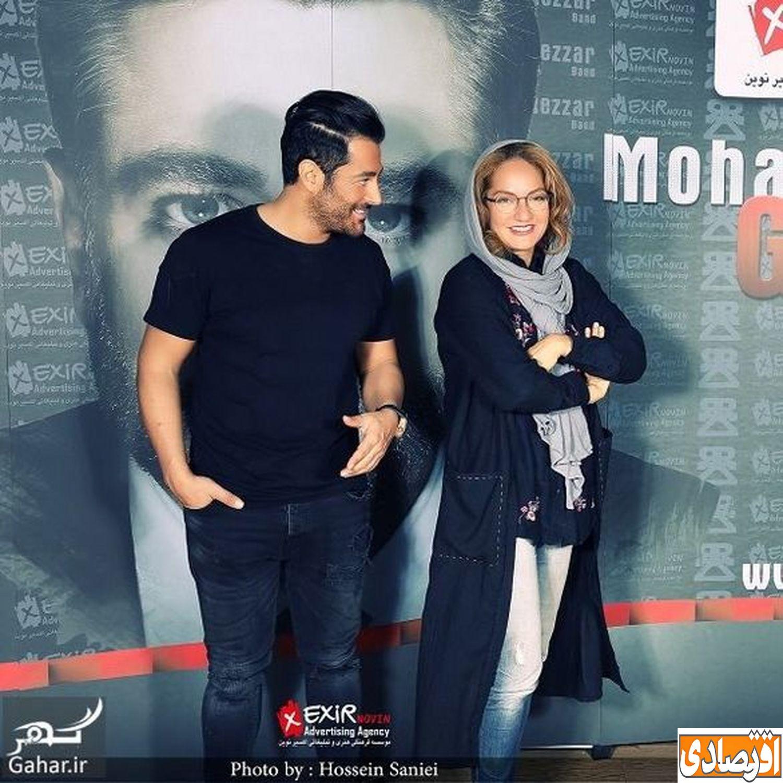 محمدرضا گلزار عاشق مهناز افشار شد + عکس