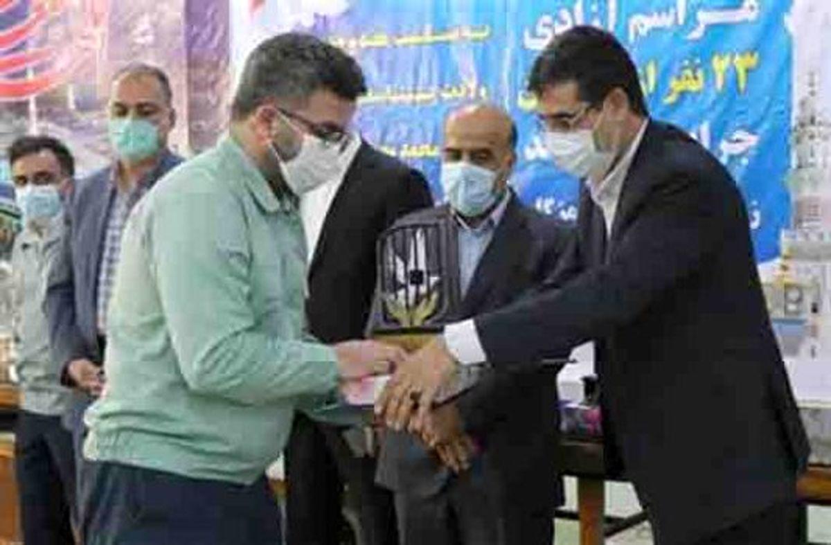 آزادی ۱۱۰ زندانی جرائم غیرعمد با گلریزان های فولاد هرمزگان