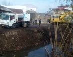 آغاز لایروبی مسیرهای انتقال آب کشاورزی در منطقه آزاد انزلی