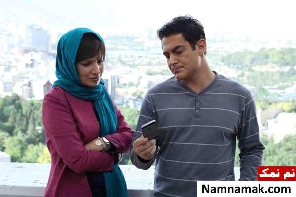 آیدا کیخایی و محمد رضا گلزار در صحنه ای از فیلم خشکسالی و دروغ