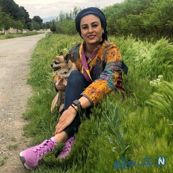 ماشین لاکچری حدیث تهرانی و همسرش + عکس دونفره
