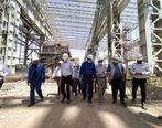 بازدید مدیر عامل شرکت ملی فولاد ایران و هیئت همراه از مجتمع فولاد قاینات