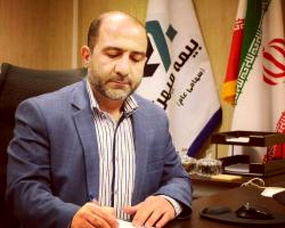 تبریک مدیرعامل و عضو هیأت مدیره بیمه میهن در پیامی به مناسبت عید سعید فطر