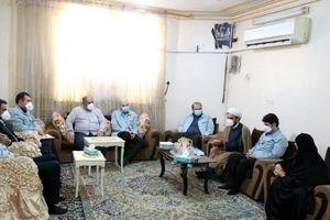 دیدار مدیرعامل شرکت فولاد خوزستان با خانواده معظم شهدا