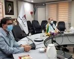 جلسه پروژههای مهم زیست محیطی شرکت فولاد خوزستان برگزار شد