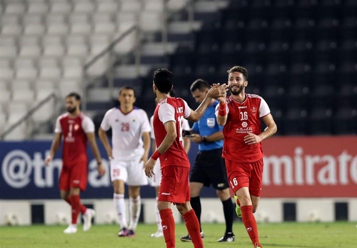 نتیجه بازی پرسپولیس و النصر | شنبه 12 مهر