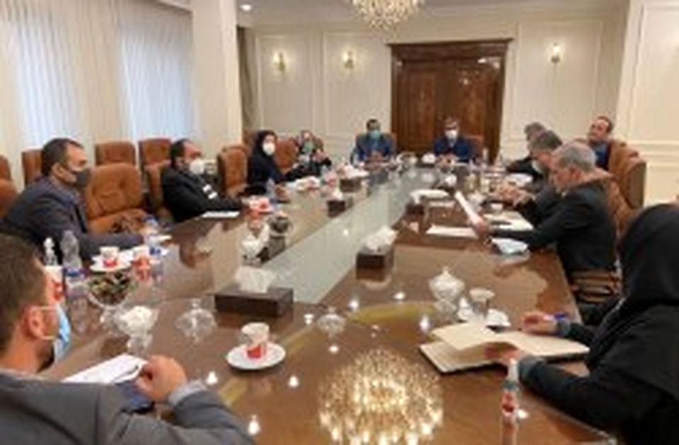 نشست روسای مناطق آزاد کشورهای عضو اکو