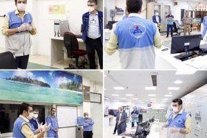 بازدید رئیس سلامت بهداشت و درمان صنعت نفت شهرستان ماهشهر از مجتمع پتروشیمی بندرامام