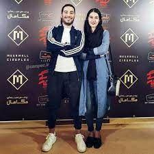 نوید محمدزاده از ظاهر جدید همسرش رونمایی کرد + عکس