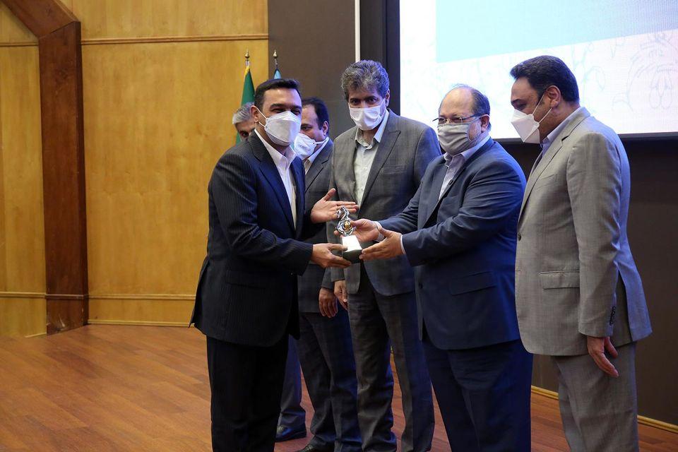 صبافولاد خلیجفارس به عنوان شرکت برتر وزارت کار معرفی شد