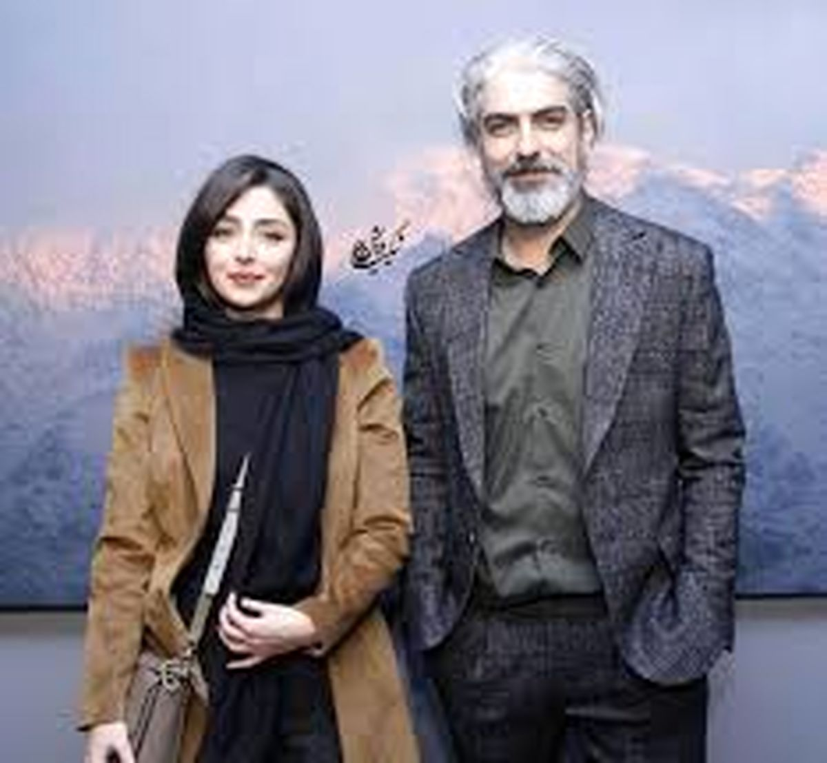 مهدی پاکدل و همسر جوانش + عکس دیده نشده