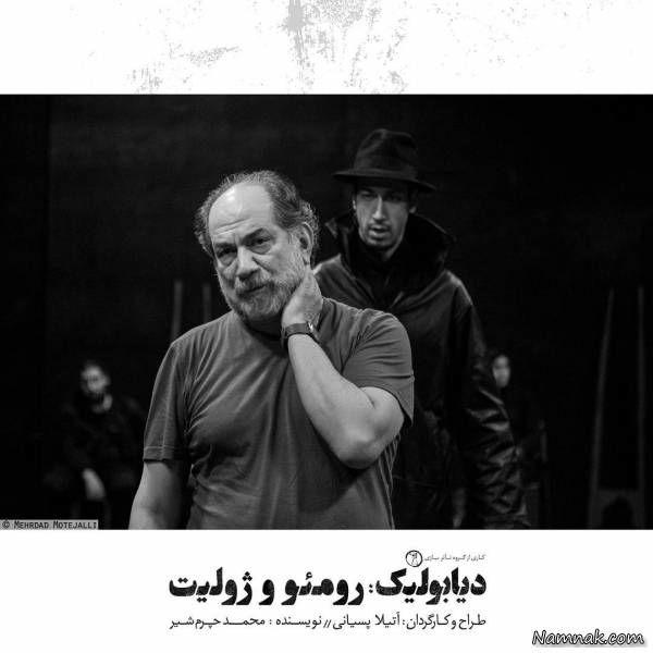 بهرام افشاری در تئاتر