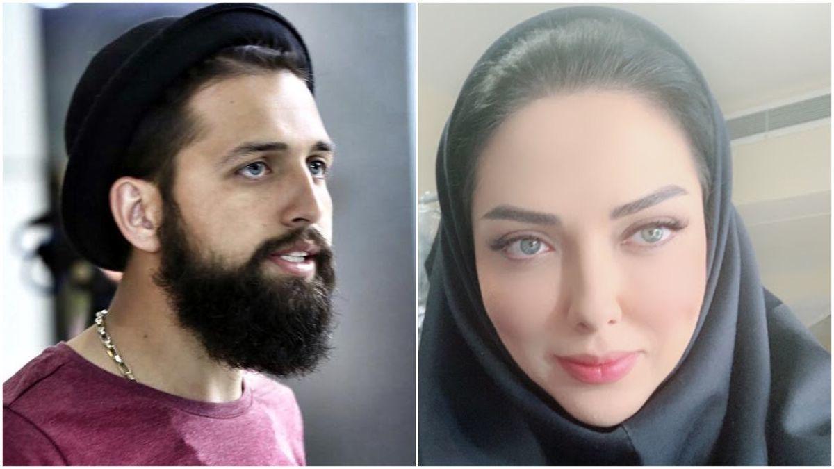 محسن افشانی هم درگیر رابطه جدید دنیا جهانبخت و مهراد جم شد + عکس جنجالی
