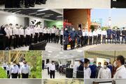بازدید مدیرعامل پتروشیمی پردیس از واحدهای شرکت