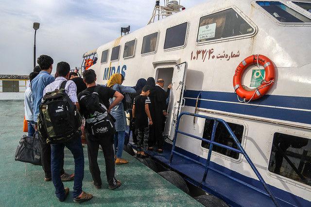 اختصاص شناور ویژه برای انتقال داوطلبان آزمون دکتری به بندرعباس